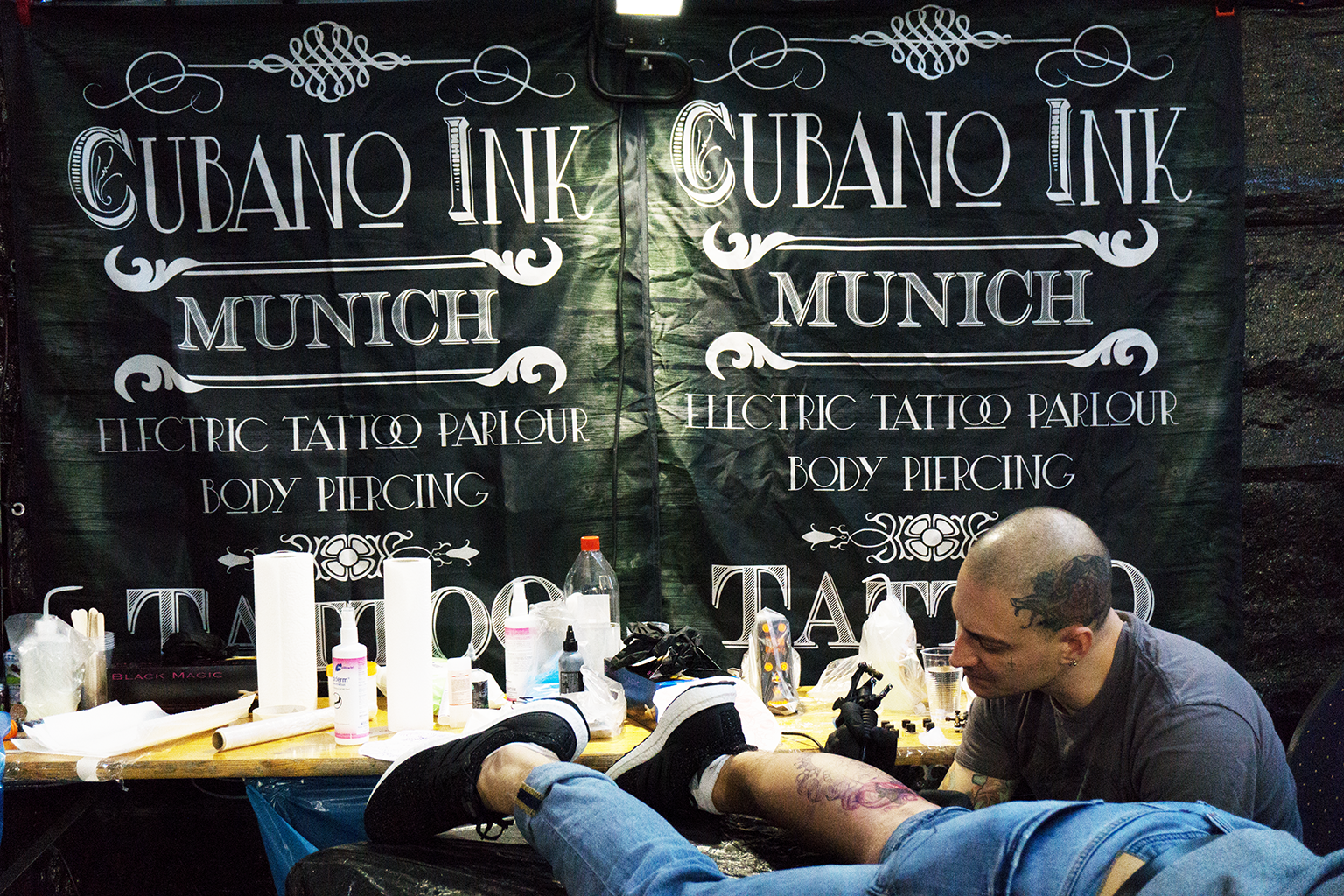 Tattoo-Convention München Tonhalle April 2019
